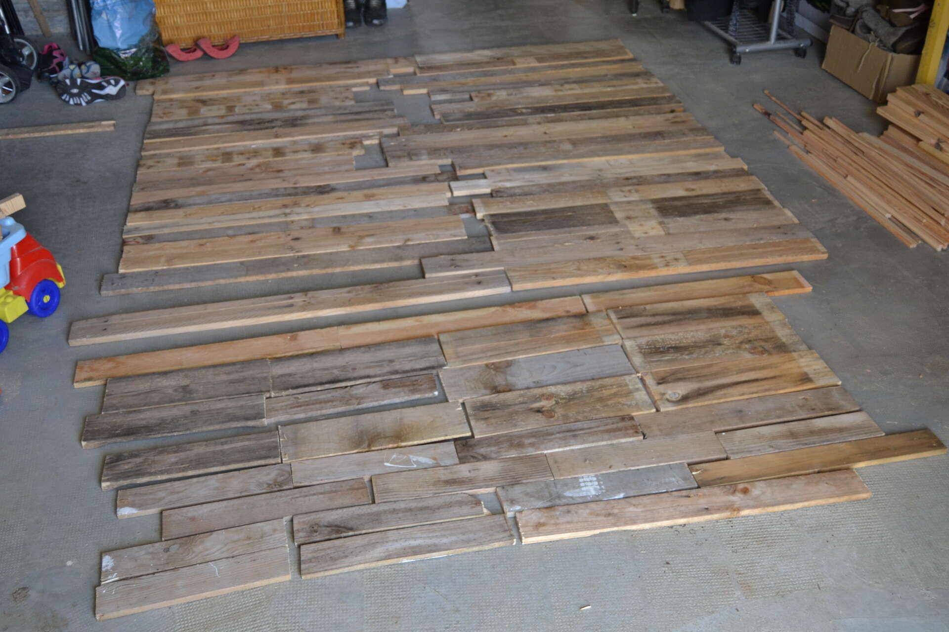 Bois de r cup ration de palettes atelier lacrois e - Recuperation de bois gratuit ...