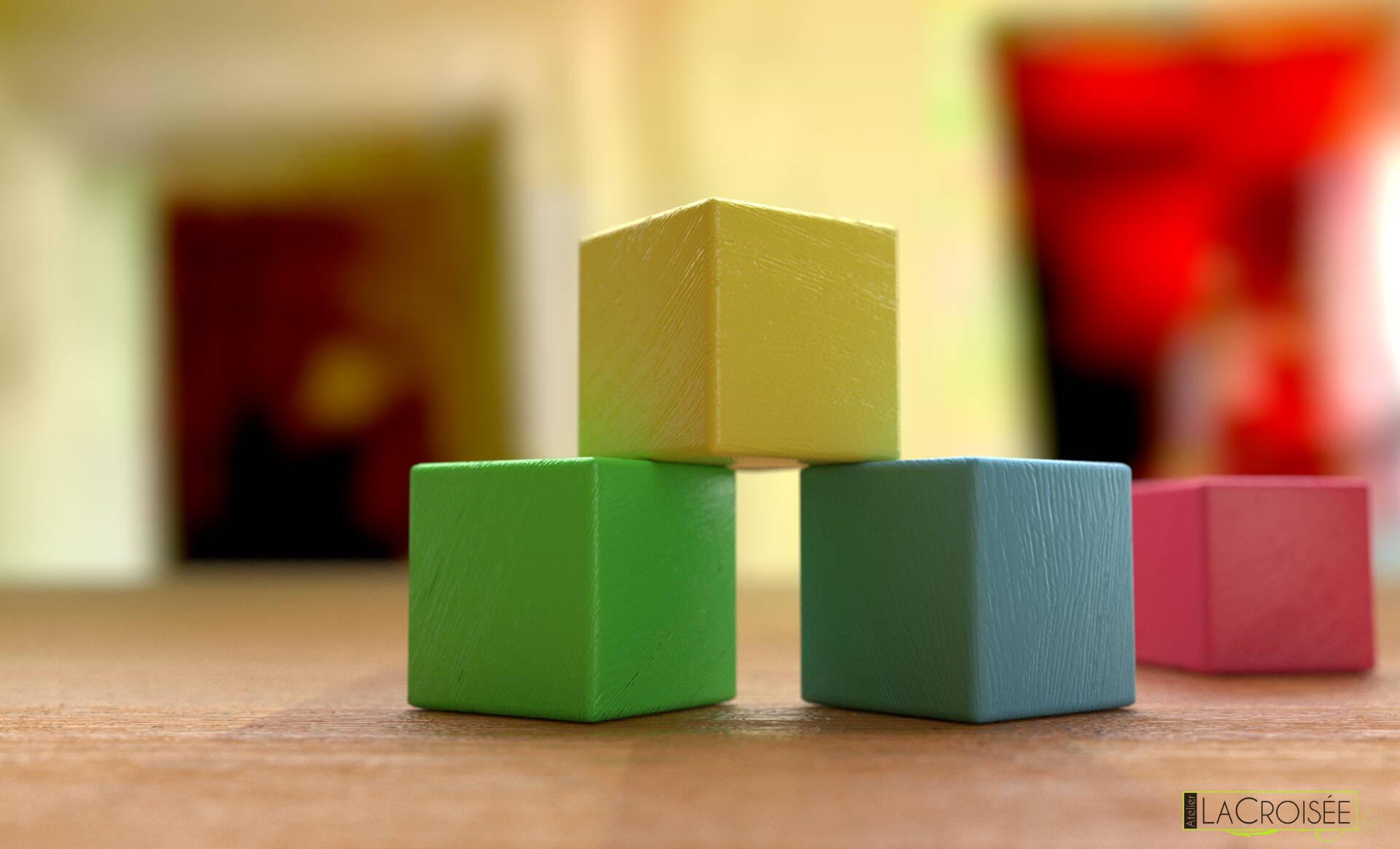 modélisation-blender-cubes-bois