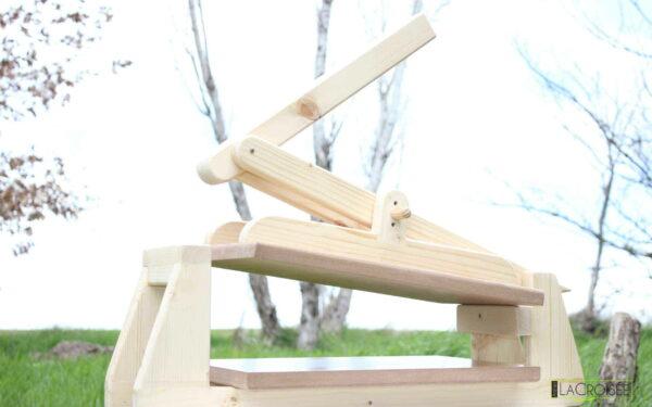 Presse à linogravure pas chère en bois