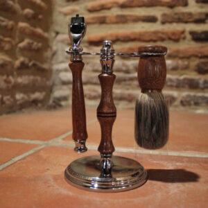 Set-à-raser-artisanal-sipo-blaireau-et-rasoir-compatible-Gillette-Mach-3