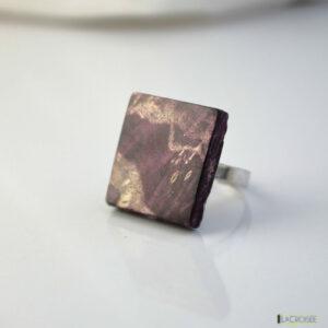 bague-anneau-en-argent-925-en-bois-loupe-de-marronnier-violette