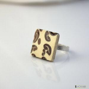 bague-anneau-en-argent-925-spéciale-en-café