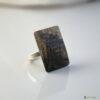 Bague en bois loupe de marronnier