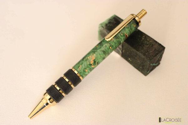 stylo-bois-yonkers-loupe-de-marronnier-vert