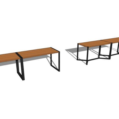 Tables basses jumelles