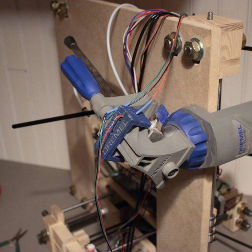 Imprimante 3D en bois