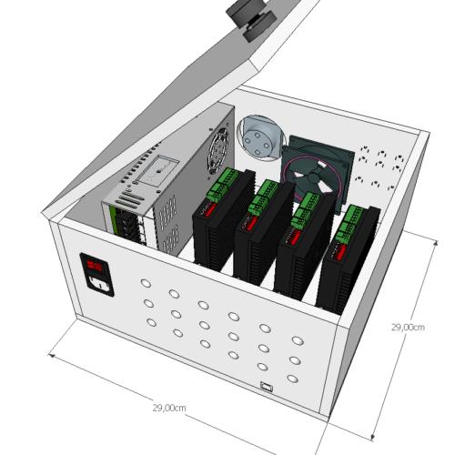 CNC Max - Bloc pilote